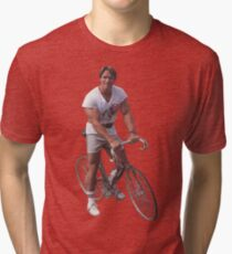Arnold on a Bike Tri-blend T-Shirt