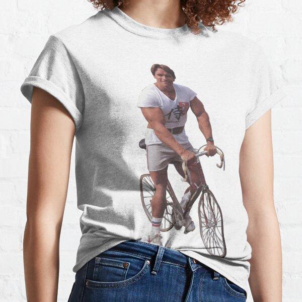 Arnold sur un vélo T-shirt classique