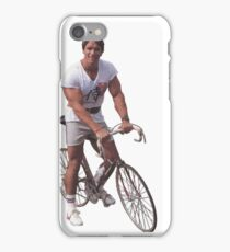 Arnold on a Bike iPhone Case/Skin