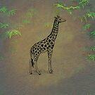 Giraffe by David Dehner