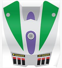 Buzz Lightyear Jetpack Poster