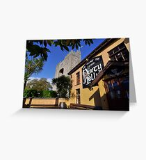 Bunratty Castle and Durty Nelly's Pub , County Clare, Ireland Greeting Card