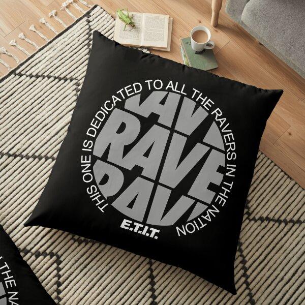 RAVE RAVE RAVE #2 Bodenkissen
