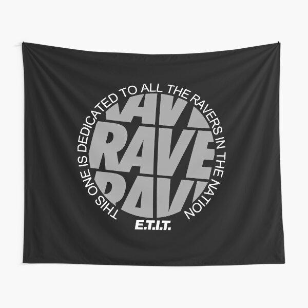 RAVE RAVE RAVE #2 Wandbehang