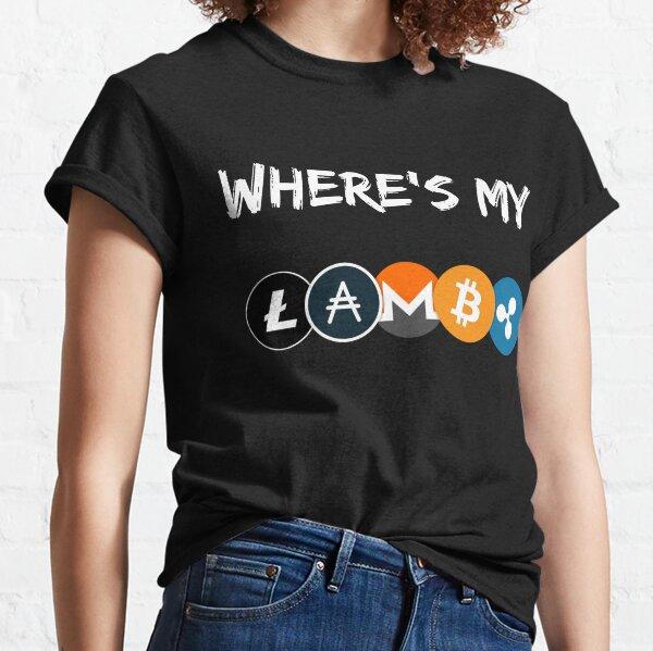 ¿Dónde está mi Lambo? Camiseta clásica