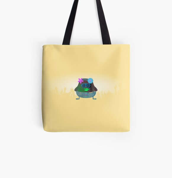 Gwen - The Little Pop Star Girl All Over Print Tote Bag