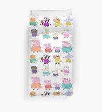 Peppa Pig And Friends Duvet Cover