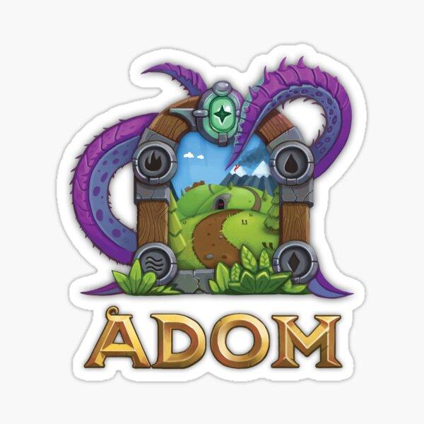 ADOM Logo Sticker