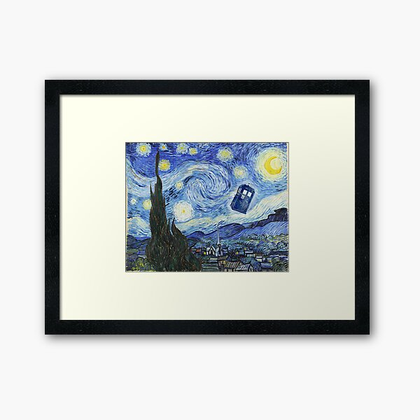 Vincent and The Doctor Framed Art Print