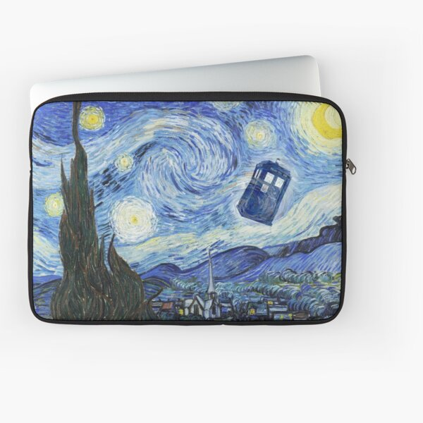 Vincent and The Doctor Laptop Sleeve