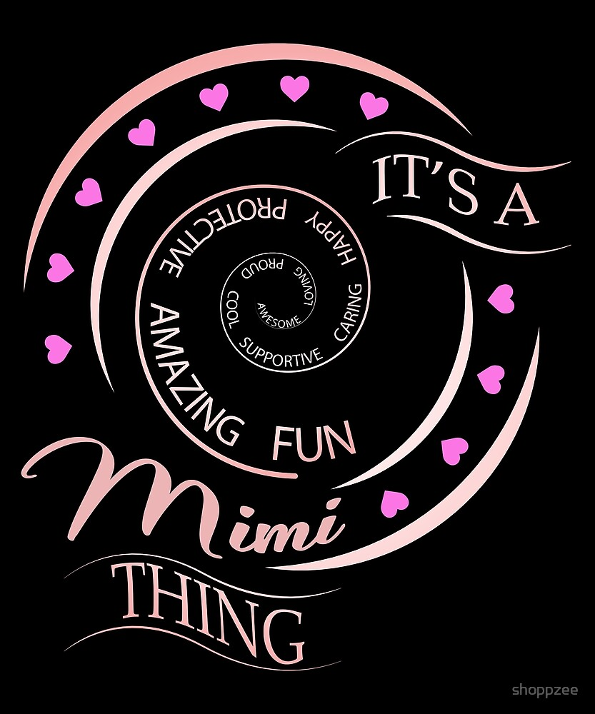 Mimi Gifts Grandma Gifts Its A Mimi Thing by shoppzee