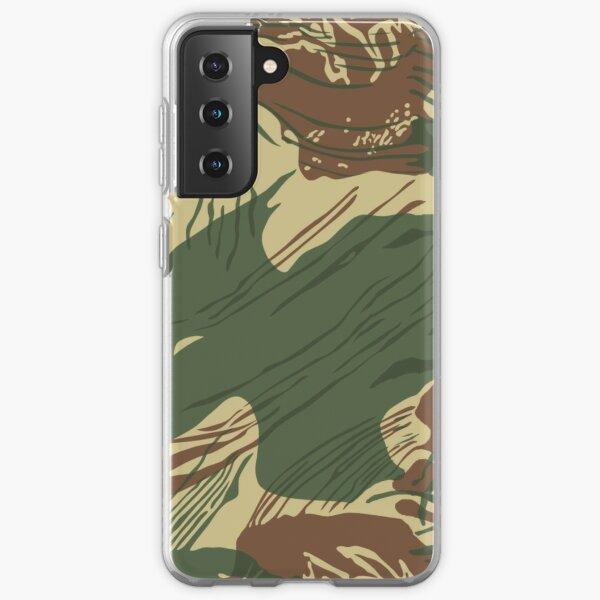 Rhodesian Brush Stroke Camouflage Samsung Galaxy Soft Case