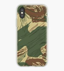 Rhodesian Pinselstrich Tarnung iPhone-Hülle & Cover