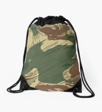 Rhodesian Brush Stroke Camouflage Drawstring Bag