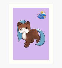 Kitty Care - Bobby Art Print