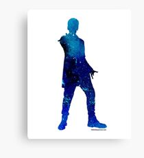 The 12th Doctor - Doctor Who Art Print Canvas Print