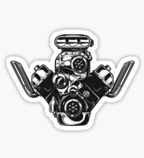 Racing Blower Engine T Shirt Sticker