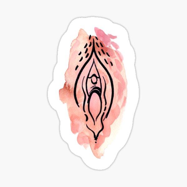 Vagina No. 8 Pegatina