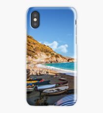 The Charm Of Monterosso Al Mare - Italy iPhone Case/Skin