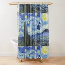 Vincent and The Doctor Shower Curtain