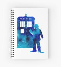 The 4th Doctor with the TARDIS Spiral Notebook