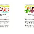 We Love the U.S.A. most popular independence day march song by coralZ