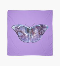 Steampunk Butterfly - Blue and Purple Scarf