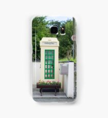 old irish telephone kiosk Samsung Galaxy Case/Skin