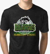 Humboldt Strong, Remember The Humboldt Broncos Tri-blend T-Shirt