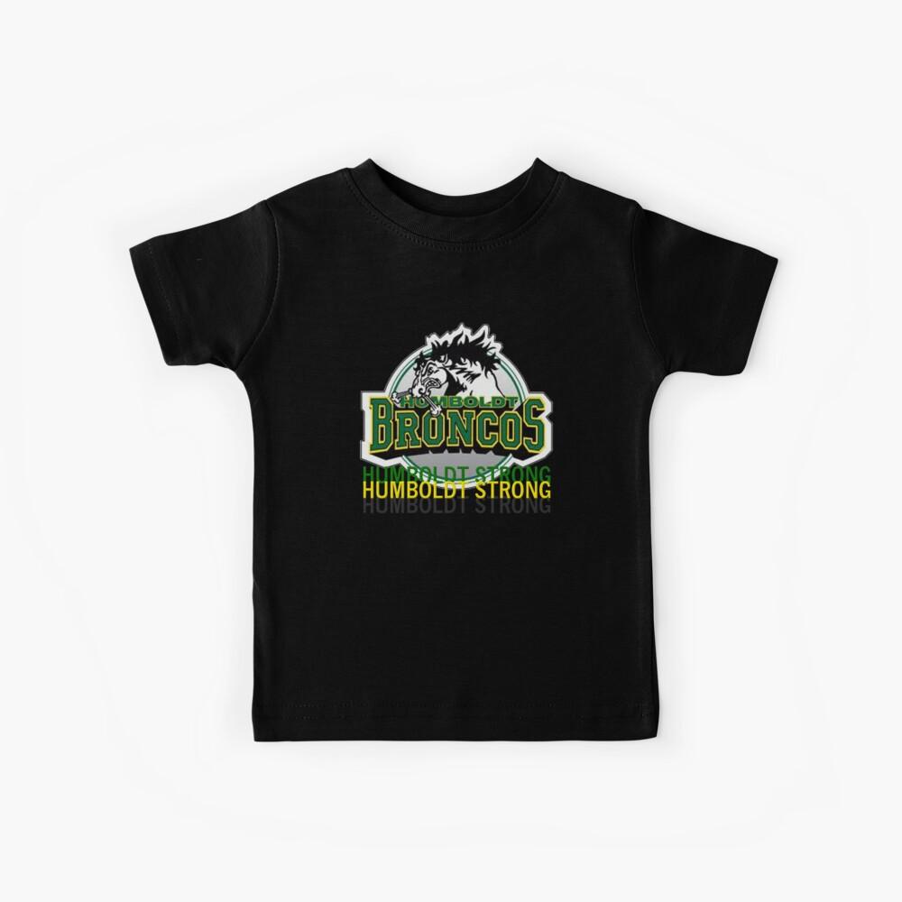 Humboldt Strong, Remember The Humboldt Broncos Kids T-Shirt