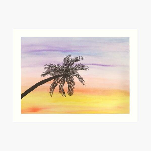Tropical Sunrise Art Print