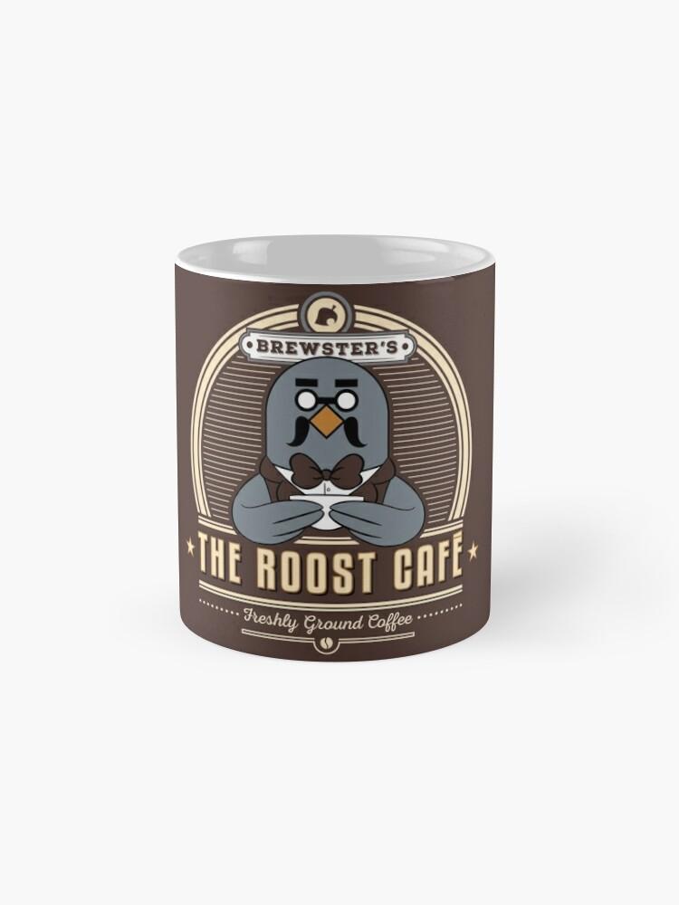 Alternate view of the Roost Café Mug
