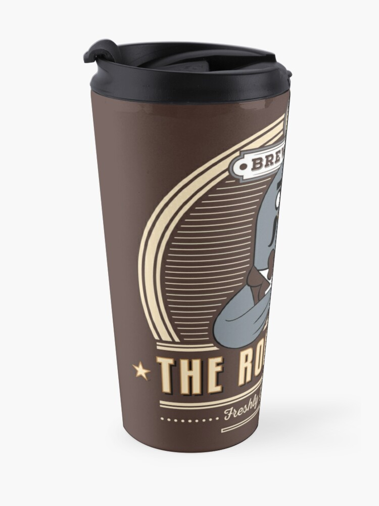 Alternate view of the Roost Café Travel Mug