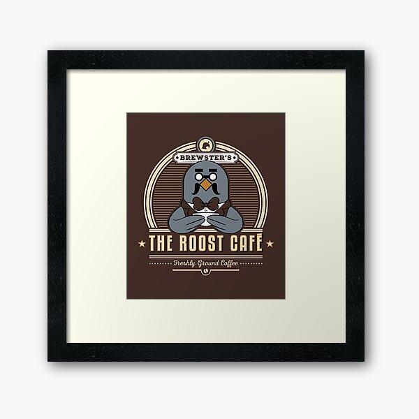 the Roost Café Framed Art Print