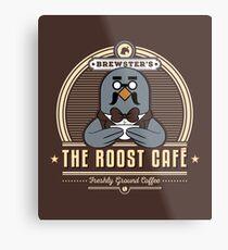 the Roost Café Metal Print