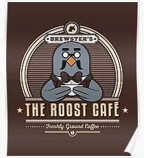 the Roost Café Poster