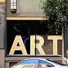 Art Gallery window, Los Angeles by rmenaker