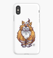 Animal Parade Ginger Cat Silhouette iPhone Case/Skin