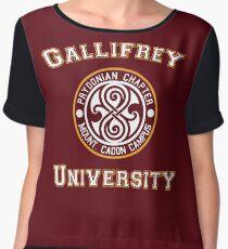 Gallifrey University Chiffon Top