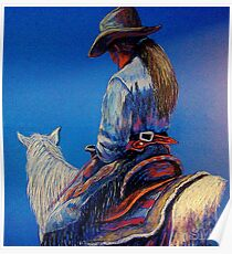 """Cowgirl Blues"" Poster"