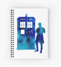 The 11th Doctor with the TARDIS Spiral Notebook