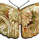 Steampunk Butterfly - Rusty by RetroArtFactory
