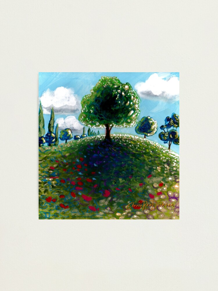 Alternate view of Hilltop Tree Photographic Print