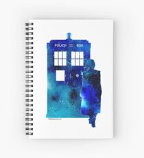 The 13th Doctor with the TARDIS Spiral Notebook