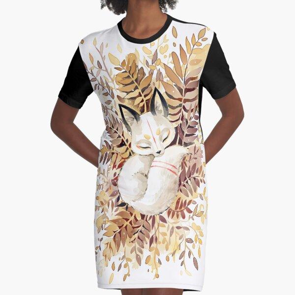 Slumber Graphic T-Shirt Dress