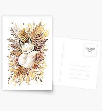 Schlummern Postkarten