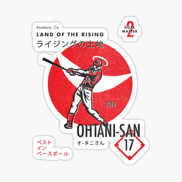The Land of the Rising Ohtani-San Sticker