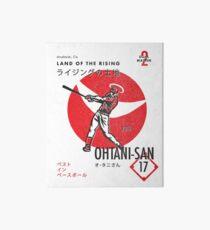 Das Land des Aufsteigenden Ohtani-San Galeriedruck