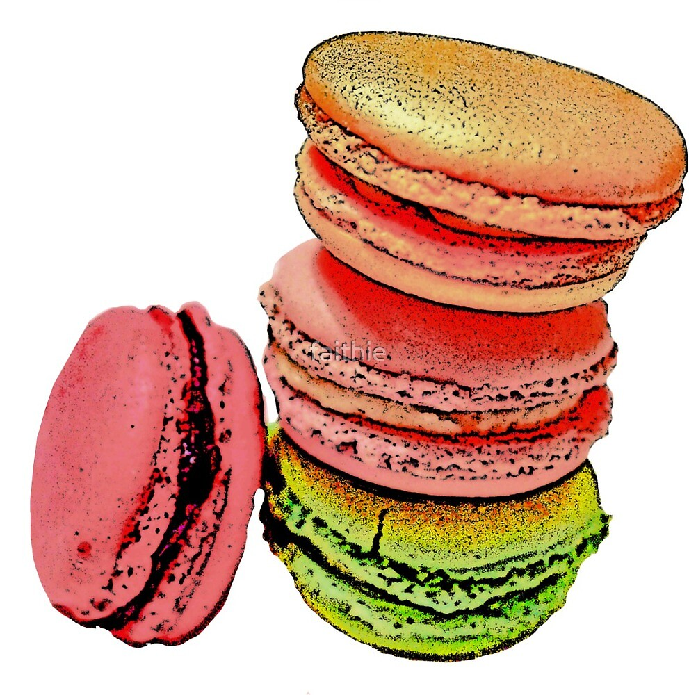 French macarons by faithie