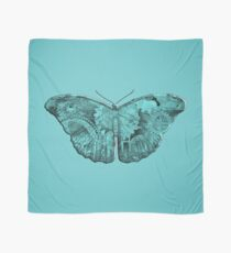 Steampunk Butterfly - Turquoise Scarf